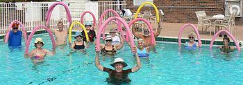 Aqua Aerobics for Back Pain