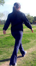 Brisk Walking Good For Lower Back Pain