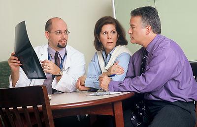 Doctor & Patient discussing arthritis